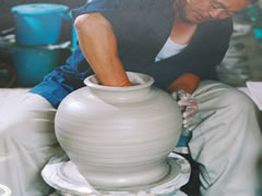 Souma Pottery Making Image 2