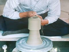Souma Pottery Making Image 3